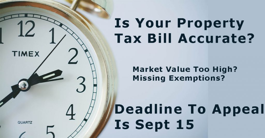 Surprised With Your Proposed Tax Bill? There Are Options But You Only Have Until September 15.