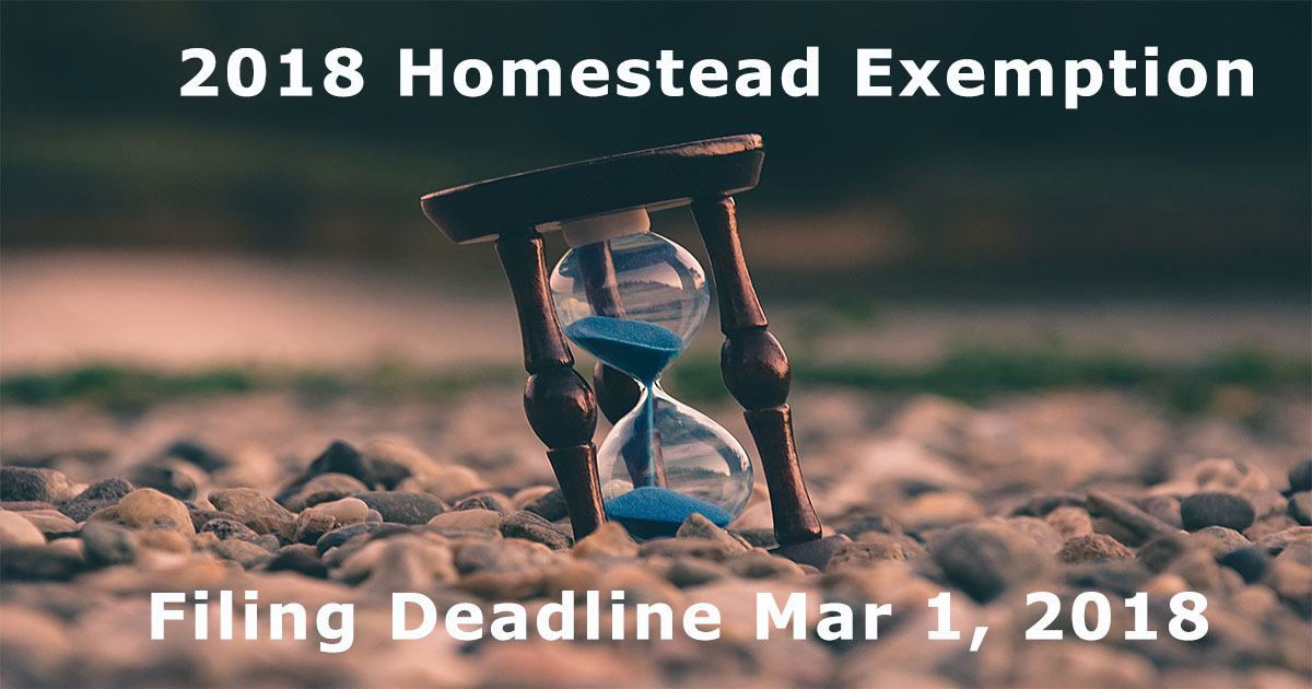 MAR-Homestead Exemption