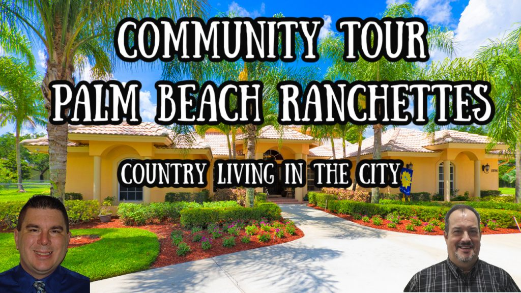 Palm Beach Ranchettes country living