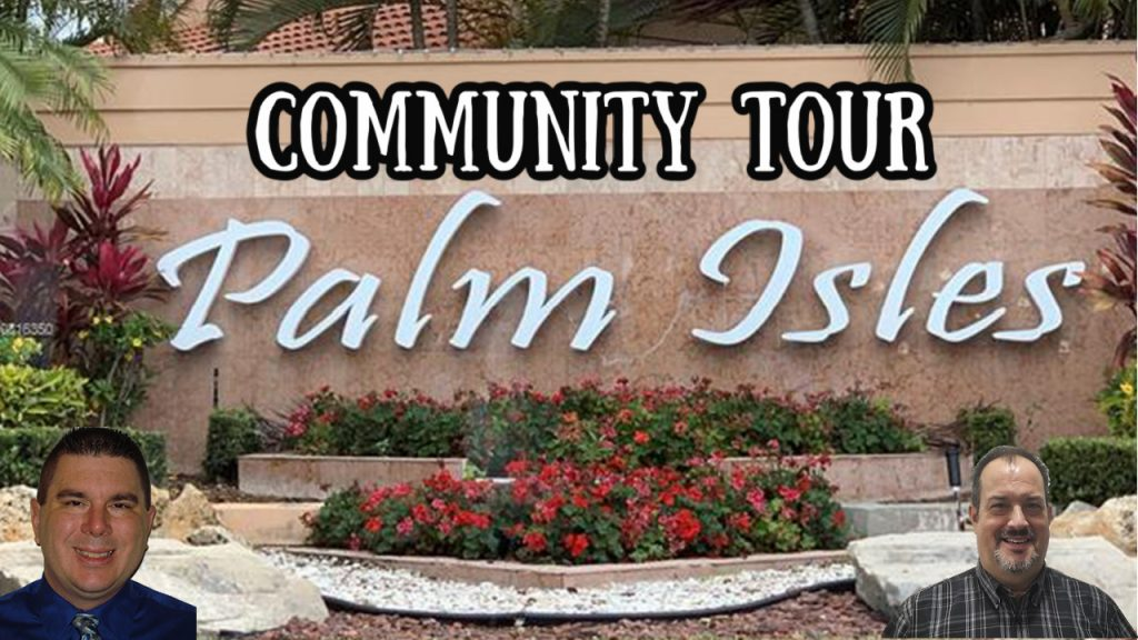 Palm Isles Sign